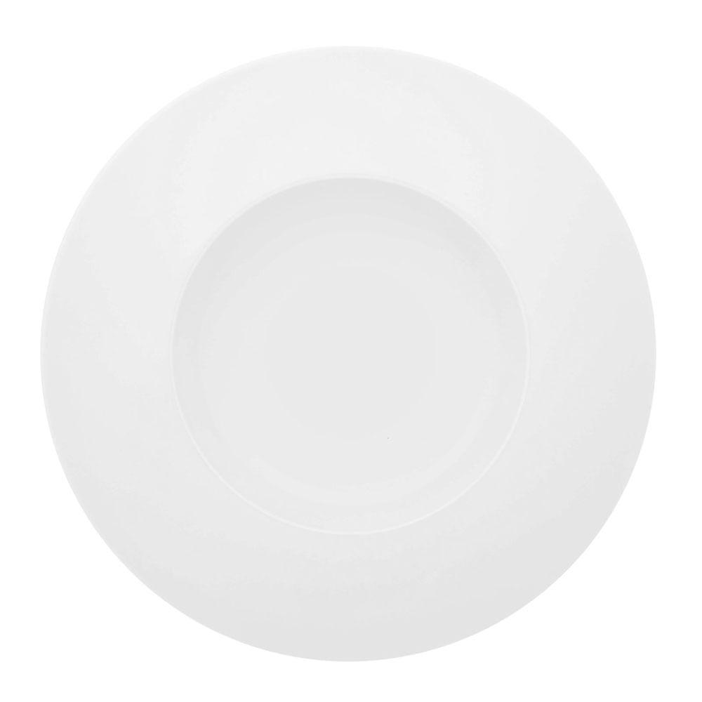Prato Pasta Silkroad White Porcelana Unidade Branco Vista Alegre Atlantis