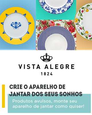 Oferta 20% Off Pratos Casa Alegre by Vista Alegre