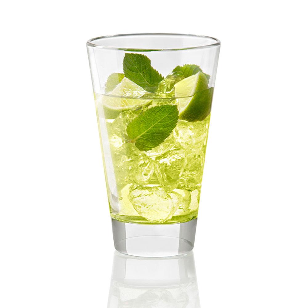 Copo Drink Volubilis 400ml 6 Peças Vidro Transparente Vidivì Vetri Delle Venezie
