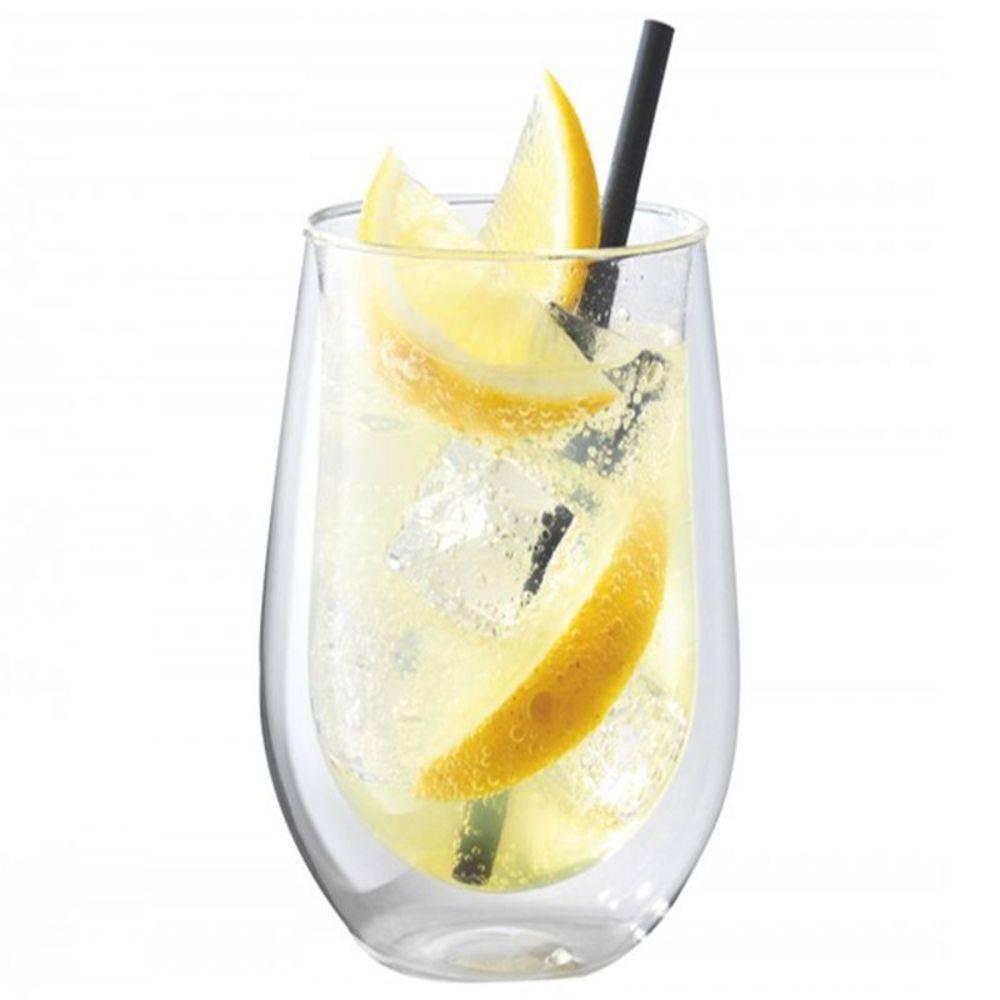 Copo de Vidro Long Drink Sorrento Parede Dupla 2 Peças 350 ml Zwilling J.A. Henckels