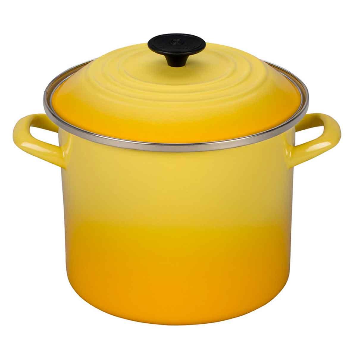 Caldeirão Stock Pot 7,3 Litros Amarelo Sun Le Creuset