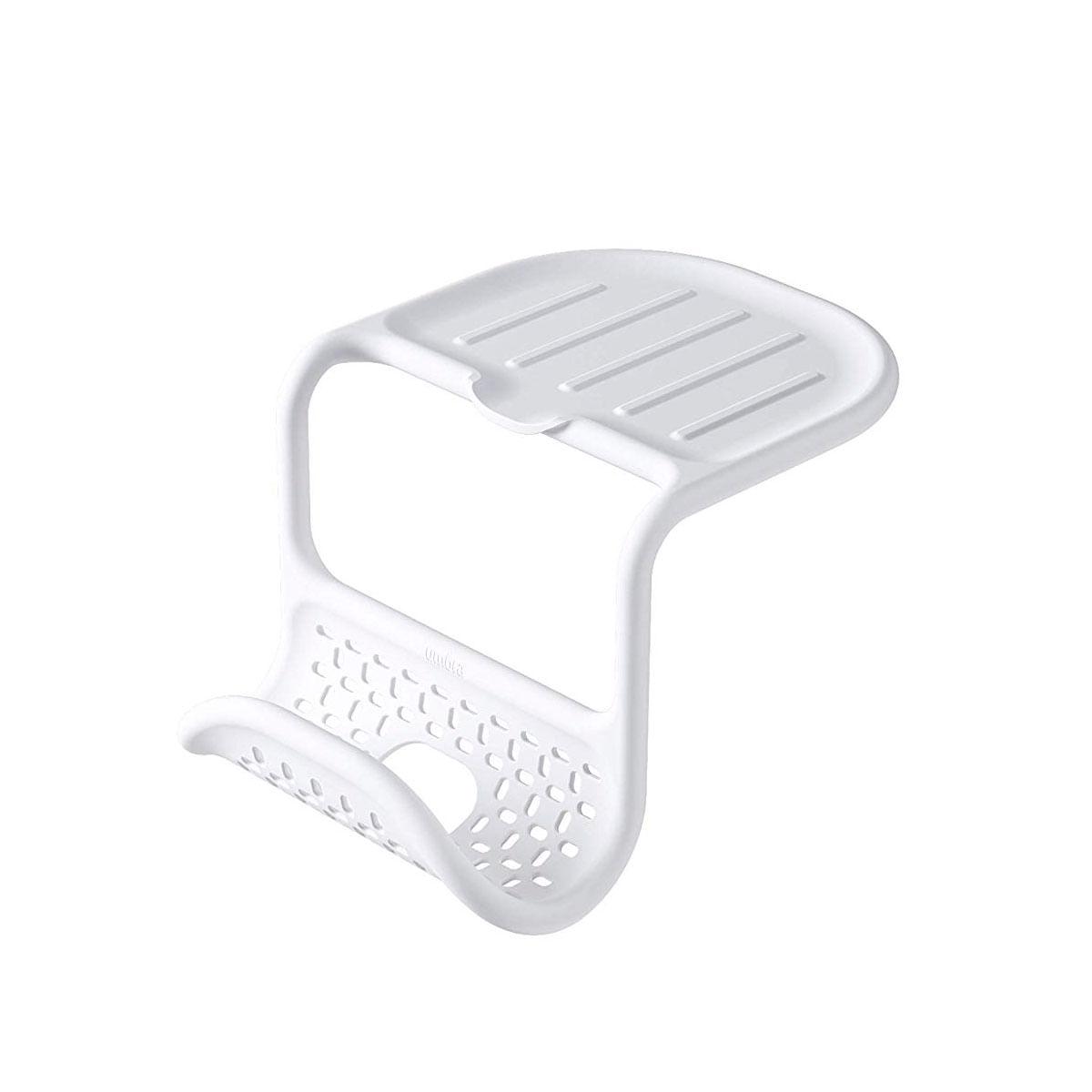 Suporte de Silicone Saddle Sink Caddy Branco Umbra