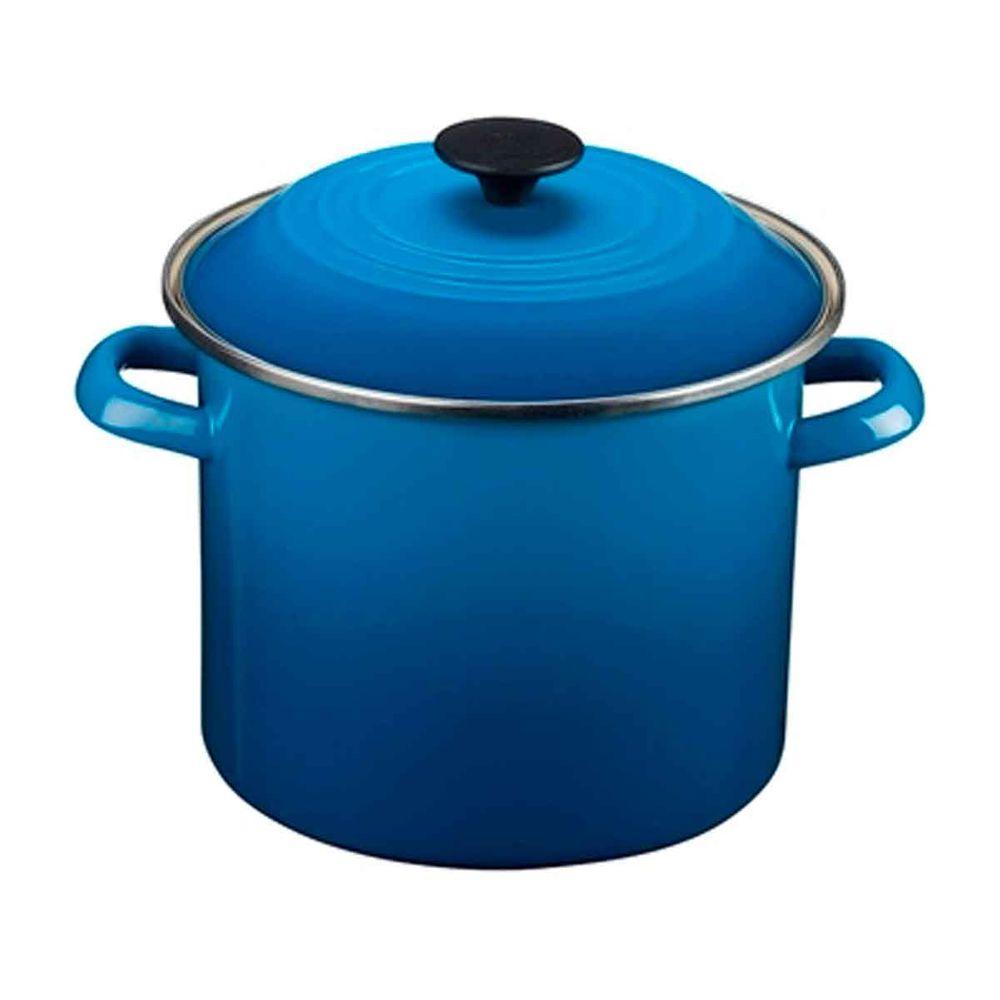 Caldeirão Stock Pot 11,3 Litros Azul Marseille Le Creuset