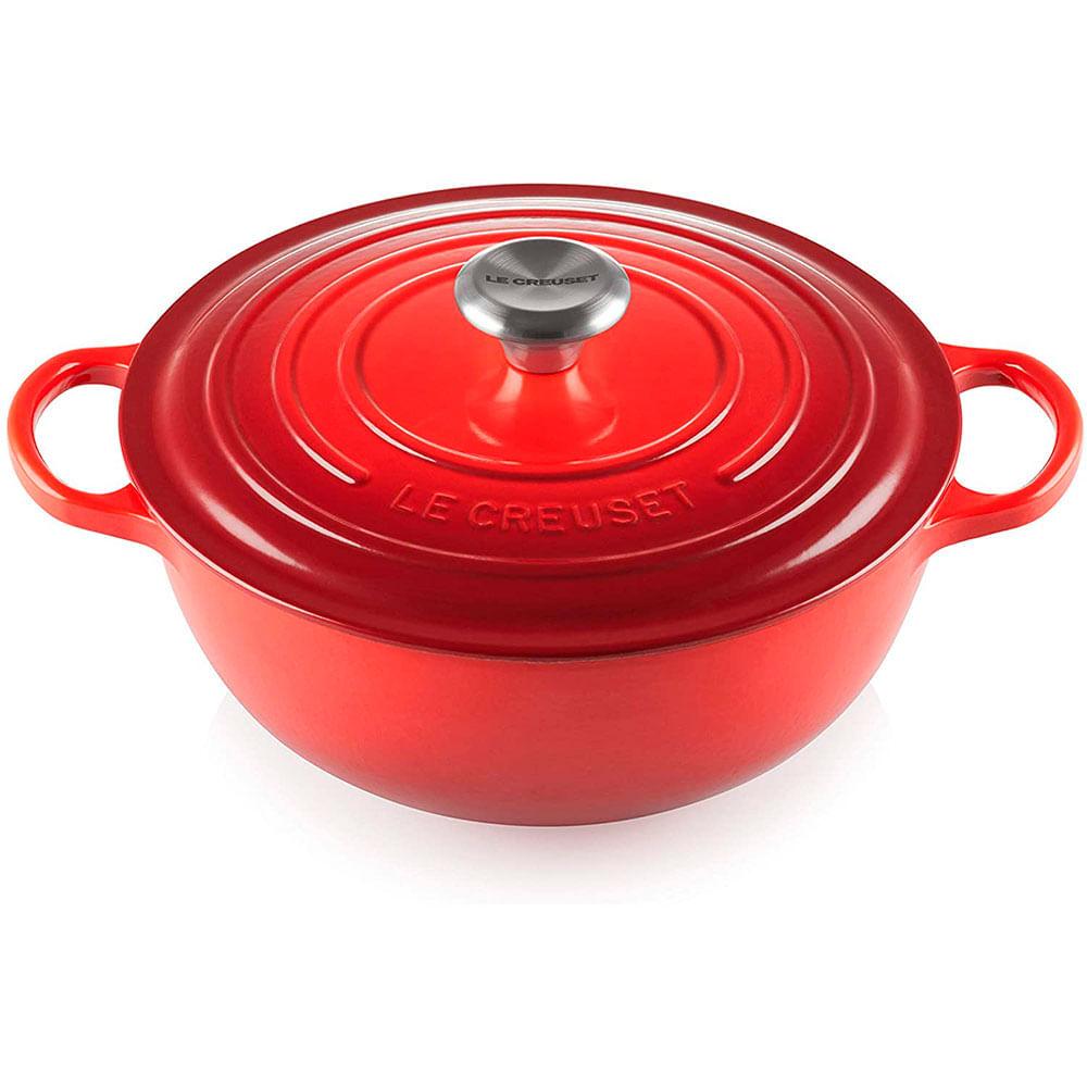 Panela Marmita Gourmet 32 cm Vermelho Le Creuset